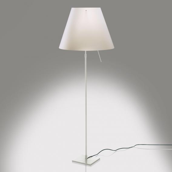 Luceplan Costanza floor lamp with dimmer, telescopic