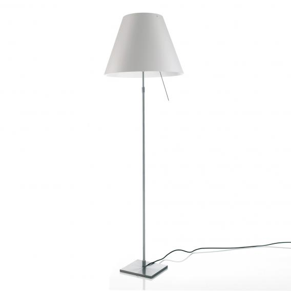 Luceplan Costanza floor lamp complete with dimmer, diffusor and telescopic