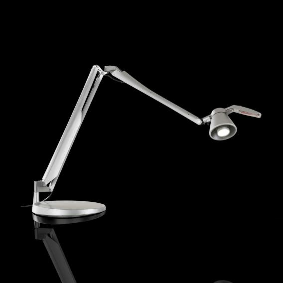 Luceplan Fortebraccio LED table lamp with universal joint and on/off switch
