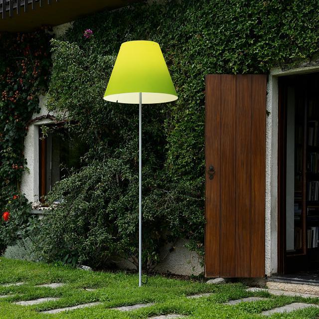 LUCEPLAN Grande Costanza Open Air floor lamp with ground spike, aluminium