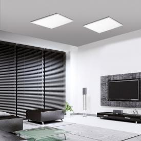 Leuchten Direkt Flat RGBW LED ceiling light with dimmer
