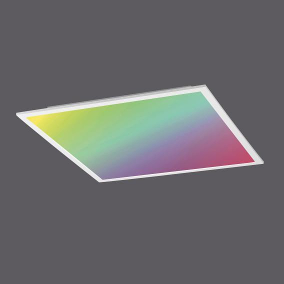 Leuchten Direkt Flat RGBW LED ceiling light with dimmer