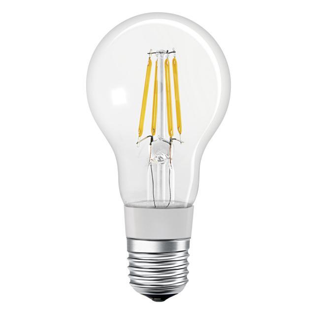 LEDVANCE LED Smart HomeKit Filament A60, E27 dimmable