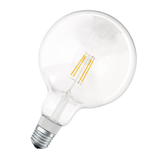 LEDVANCE LED Smart HomeKit Filament Globe60, E27 dimmable