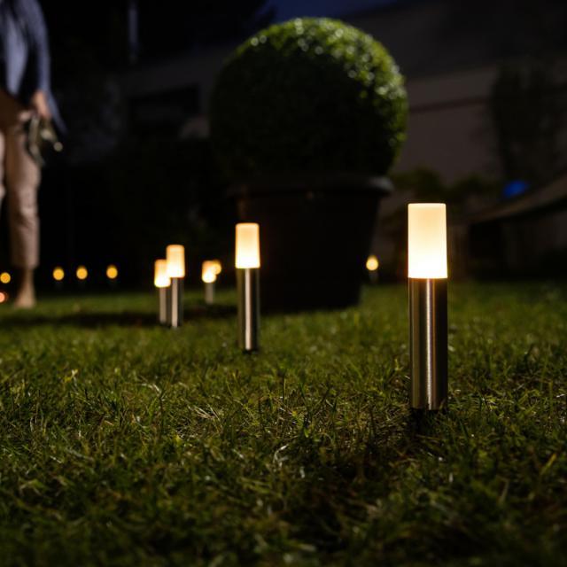 LEDVANCE Smart+ Gardenpole LED RGBW pedestal light