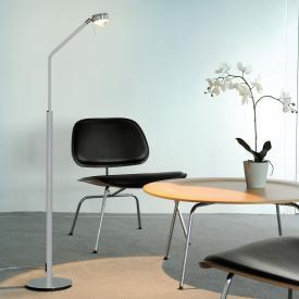 Licht im Raum Movie X LED floor lamp with dimmer