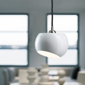 Licht im Raum White Moons 1 pendant light