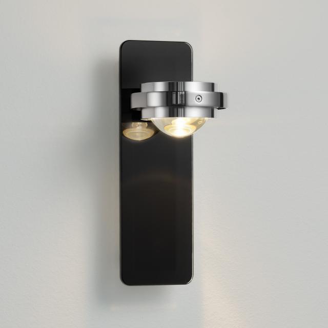 LICHT IM RAUM Ocular glass LED wall light
