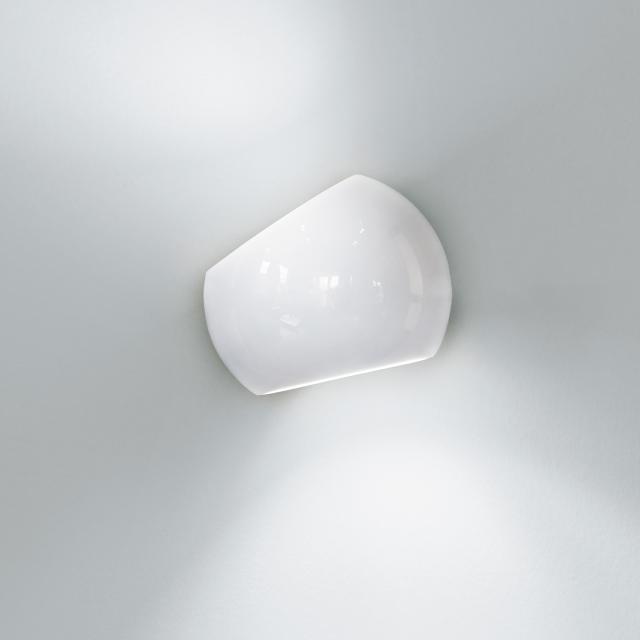 LICHT IM RAUM White Moons 1 wall light