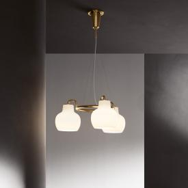 louis poulsen VL Ring Crown pendant light, 3 heads