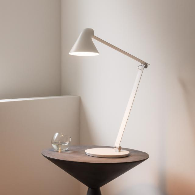 louis poulsen NJP LED table lamp with base and dimmer