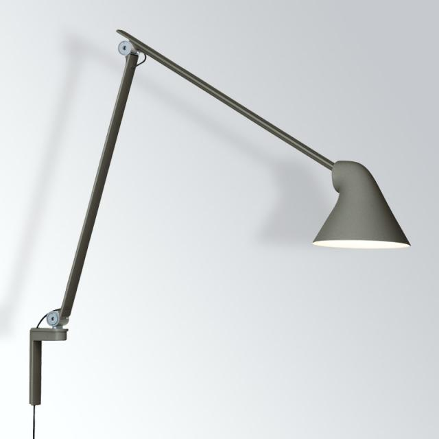 louis poulsen NJP LED wall light long with dimmer and cable