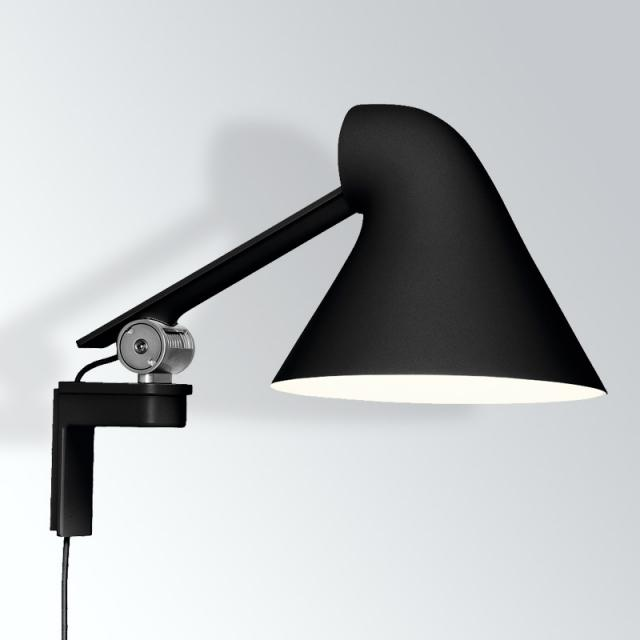 louis poulsen NJP LED wall light short with dimmer and cable