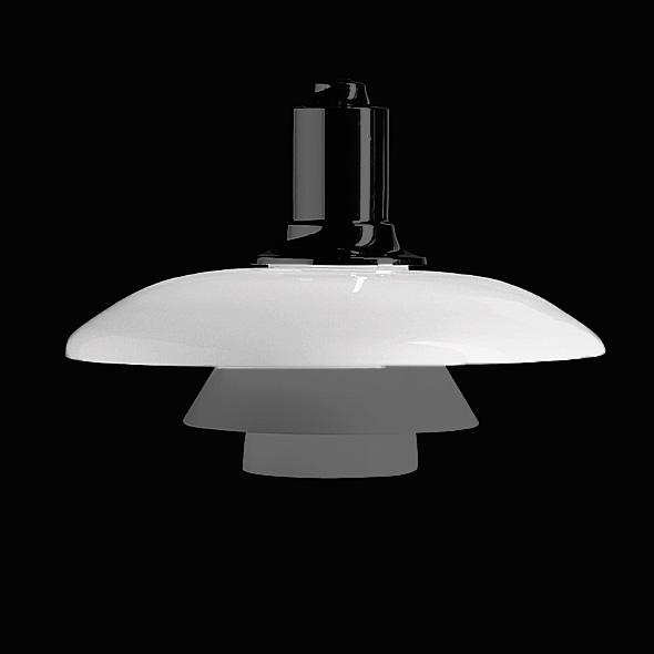 louis poulsen top shade PH 4 ½-4 pendant light