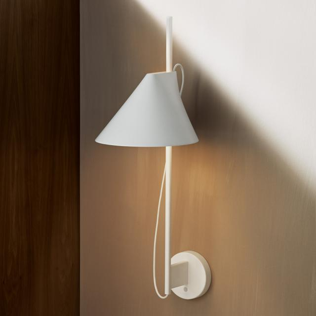 louis poulsen YUH LED wall light with dimmer and supply cable