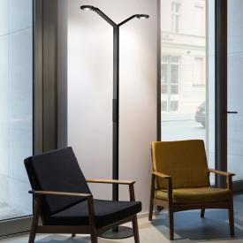 Luctra Floor Twin Radial LED floor lamp