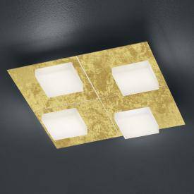 luce elevata cube LED ceiling light / wall light, four heads, with dimmer, square