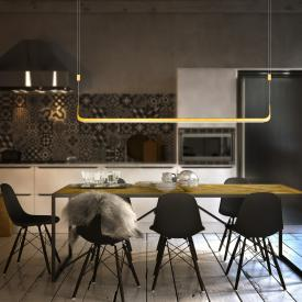 luce elevata ghia LED pendant light