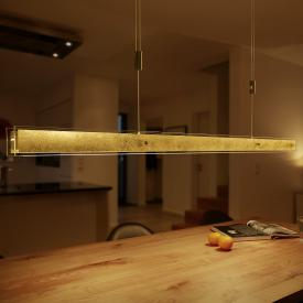 luce elevata linea LED pendant light
