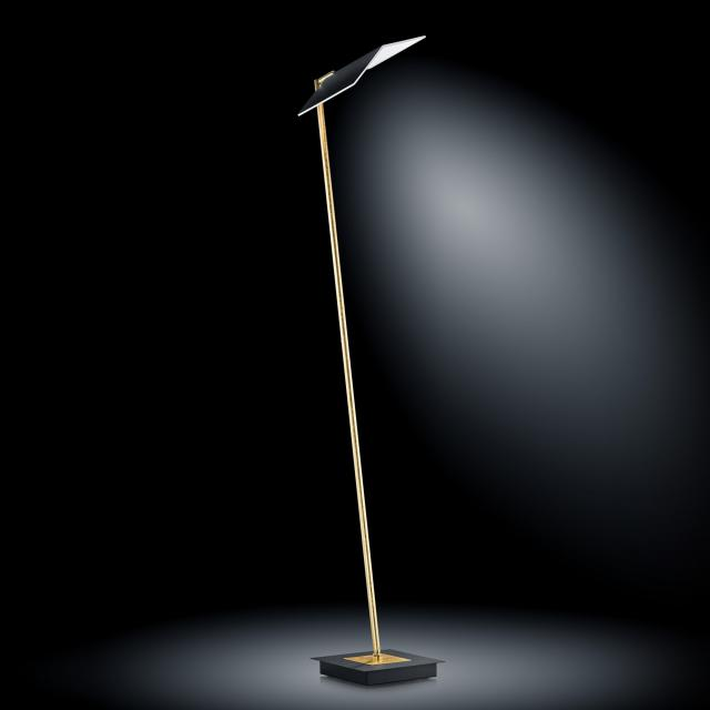 luce elevata book LED floor lamp with dimmer and CCT