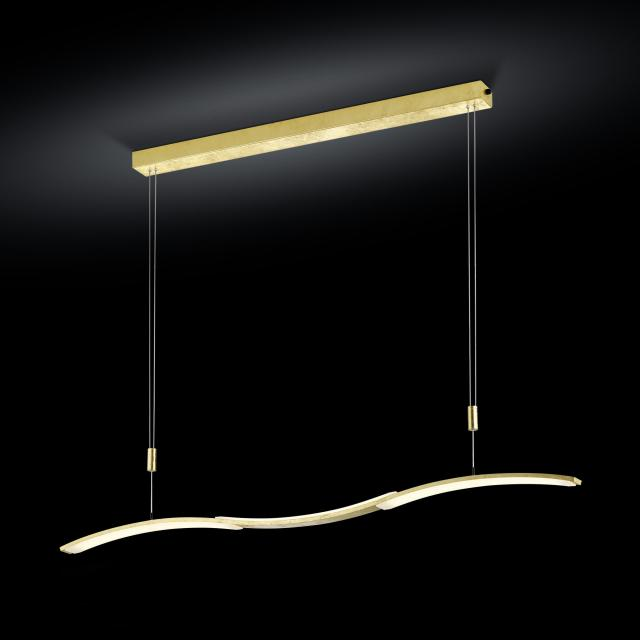 luce elevata wave LED pendant light with dimmer