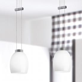 lumexx Naples Up and Down LED pendant light, 2 heads