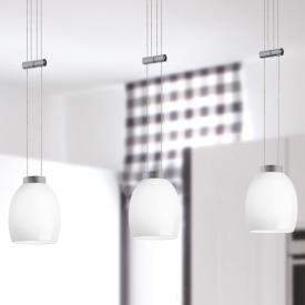 lumexx Naples Up and Down LED pendant light, 3 heads
