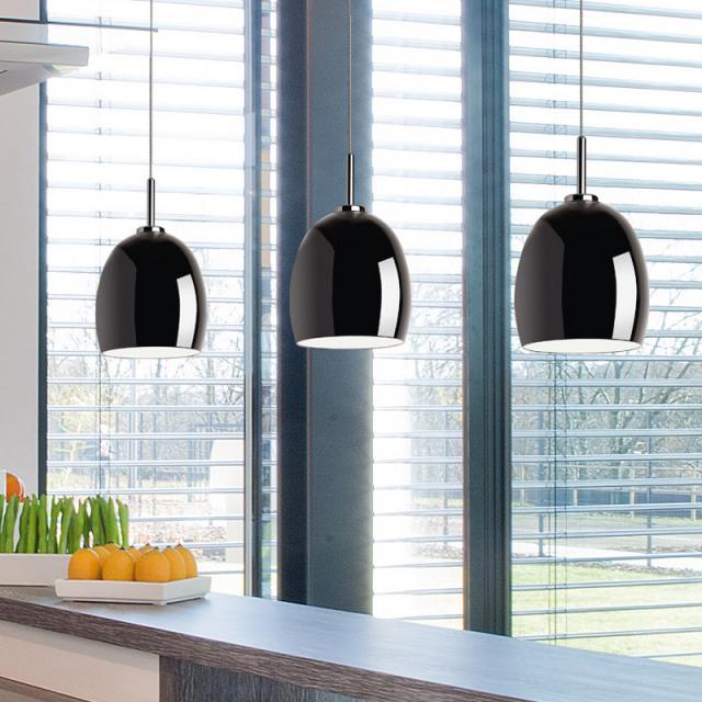 lumexx Bugsy Single LED pendant light for Magnetline