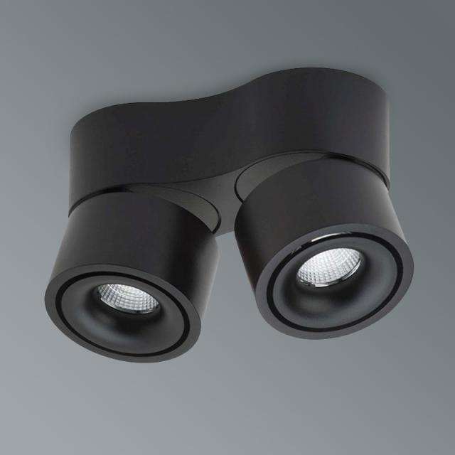 lumexx Easy Mini Double LED ceiling light / spotlight, 2 heads