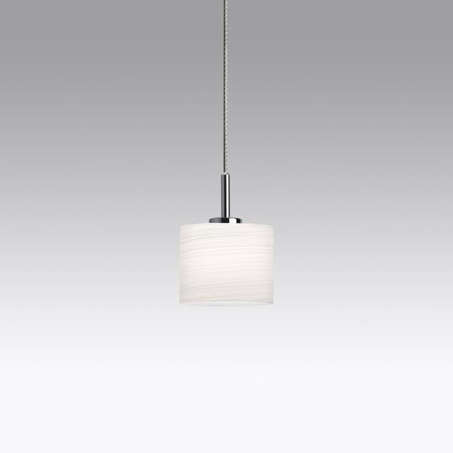 lumexx Loop Single LED pendant light for Magnetline