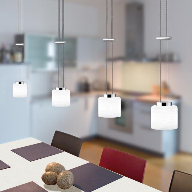 lumexx Loop Up & Down LED pendant light for Magnetline