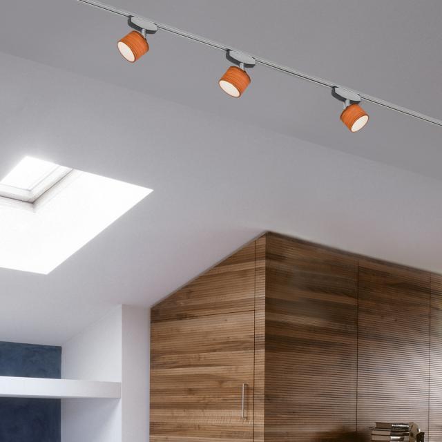 lumexx Spot Loop LED  luminaire head for Magnetline