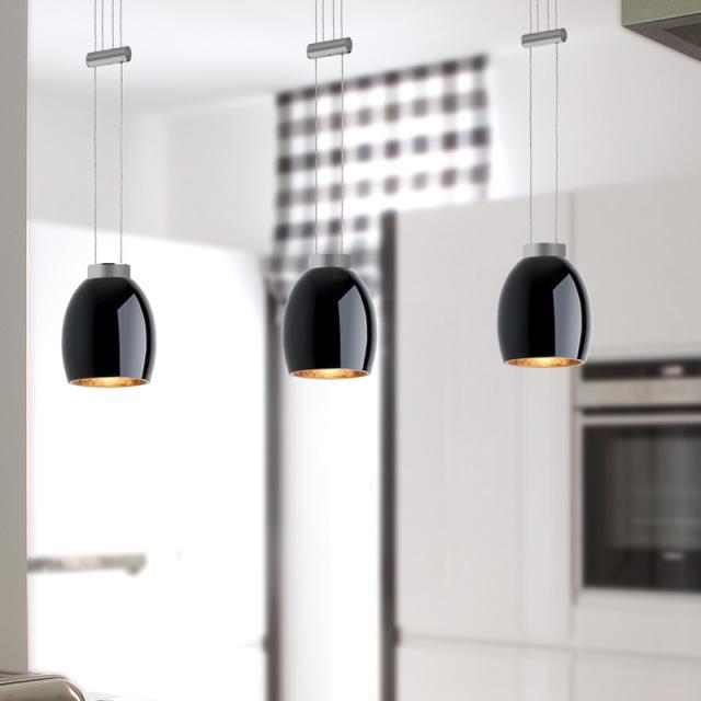 lumexx VIGA LED pendant light, 3 heads