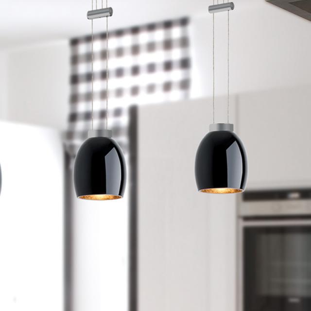 lumexx VIGA LED pendant light, 2 heads