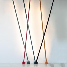 Martinelli Luce Elastica LED floor lamp with ceiling fitting and dimmer