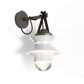 Marset Santorini IP65 wall light with wall support
