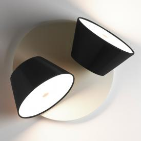 Marset Tam Tam A Base Mini wall light 2 satellite shades