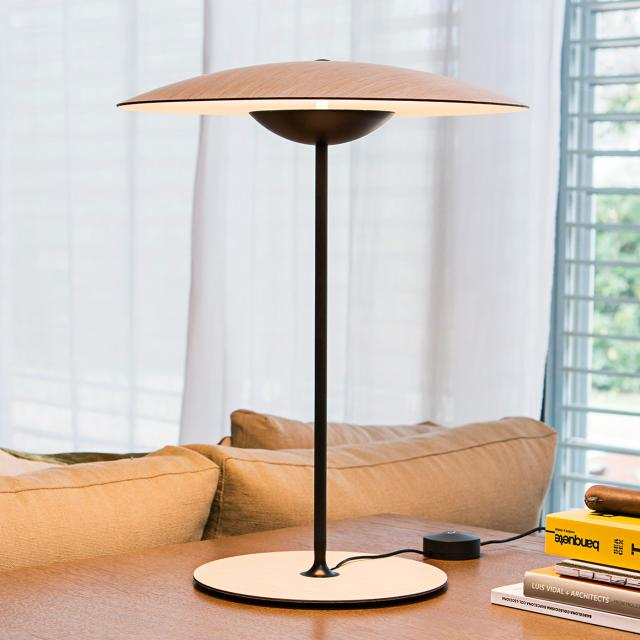 marset Ginger M LED table lamp with dimmer