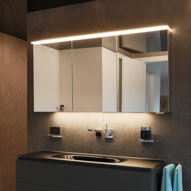Matedo Next SPS mirror cabinet with LED lighting with 3 doors