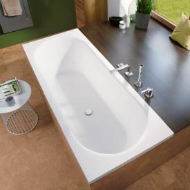 Mauersberger ausana rectangular bath white