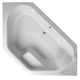 Mauersberger fascia corner bath white
