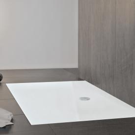 Mauersberger isca rectangular shower tray white