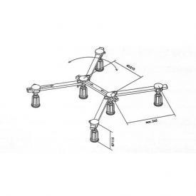 Mauersberger legs for larger shower trays