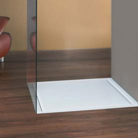Mauersberger Scapo 100/100 floor-level square shower tray