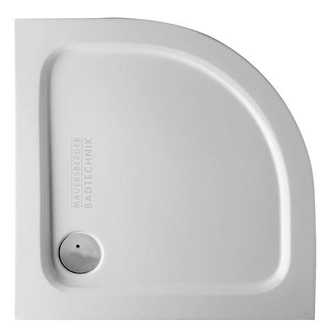 Mauersberger aphylla super flat quadrant shower tray white