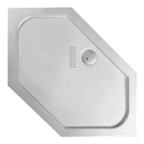 Mauersberger cissus flat special shower tray white