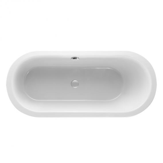 Mauersberger crispa uno oval bath white