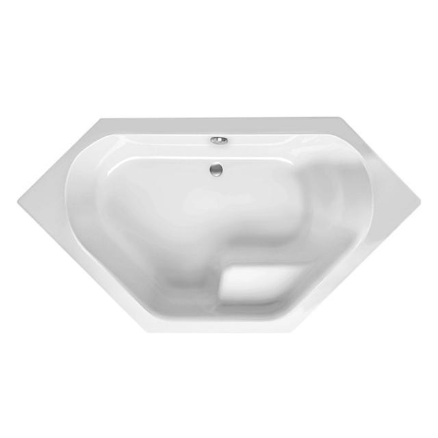 Mauersberger fascia hexagonal bath white