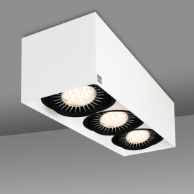 mawa 111er eckig ceiling/wall light, triple