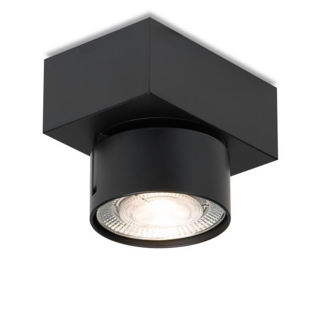 mawa LED surface-mounted spotlight, square, 1 head